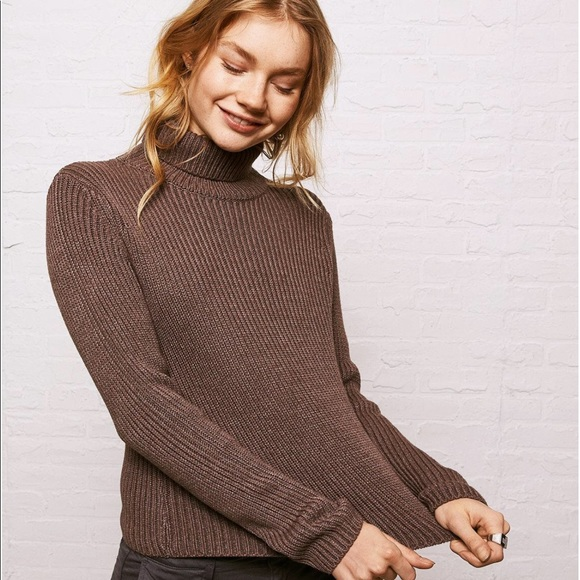 American Eagle Outfitters Sweaters - Ribbed Turtle Neck Sweater